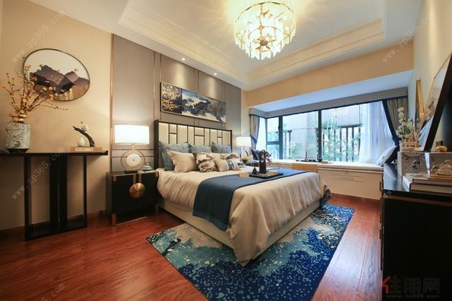 132㎡户型卧室样板房